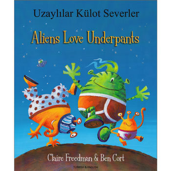 Aliens Love Underpants - Turkish & English