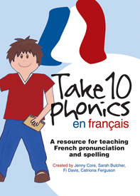 Take 10 phonics en français pack