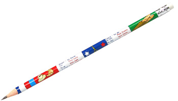 French Reward Pencils - French Irregular Verbs (Pack of 12)
