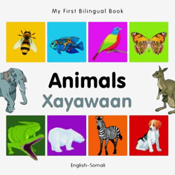 My First Bilingual Book - Animals (Somali - English)