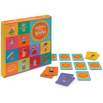 Children of the World - Memory Game