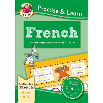 CGP Practise & Learn French: Ages 9 - 11