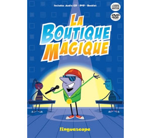 La Boutique Magique - French Rap Songs CD & DVD Pack