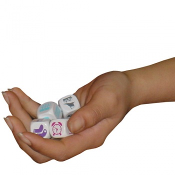 Talking Dice - Topic Packs (Pack of 6 Dice)