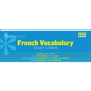 SparkNotes - French Vocabulary Study Cards (1000)