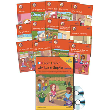 Learn French with Luc et Sophie 1ère Partie Starter Pack (Years 3–4)