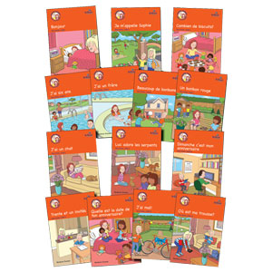 Learn French with Luc et Sophie 1ère Partie Storybook Pack (Years 3-4)