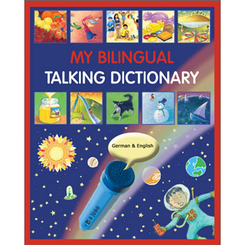 My Bilingual Talking Dictionary - German & English