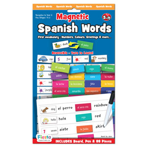 Magnetic Spanish Words