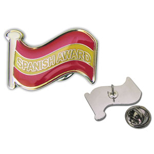 Spanish Award - Enamel Badge (Single)