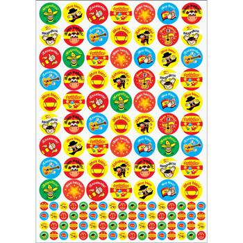 Spanish Reward Stickers (10 Sheet Value Pack)
