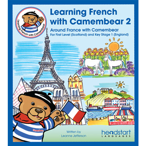 Learning French with Camembear - Pack 2