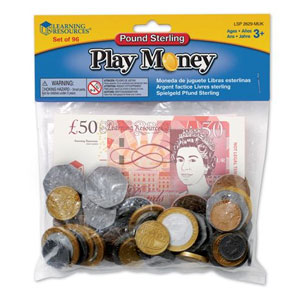 Pound Sterling Play Money