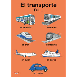 Image result for cartes cochona spanish transport