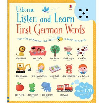 Usborne Listen and Learn First German Words