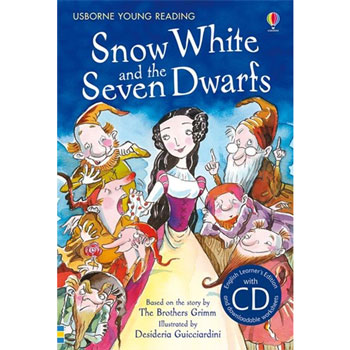 Usborne English Learner's Editions 4: Upper Intermediate - Snow White and the Seven Dwarfs