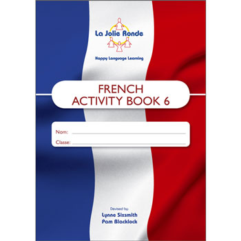 La Jolie Ronde Scheme of Work for French - Pupil Activity Books For Year 6 (Pack of 10)