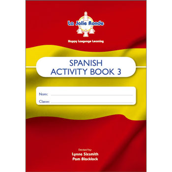La Jolie Ronde Scheme of Work for Spanish - Pupil Activity Books For Year 3 (Pack of 10)