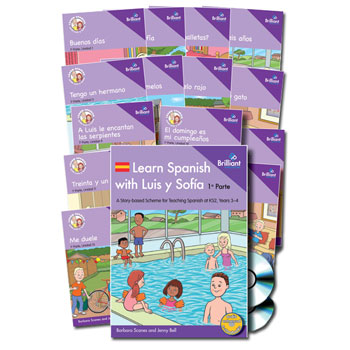 Learn Spanish with Luis y Sofía: 1a Parte Starter Pack (Years 3–4)