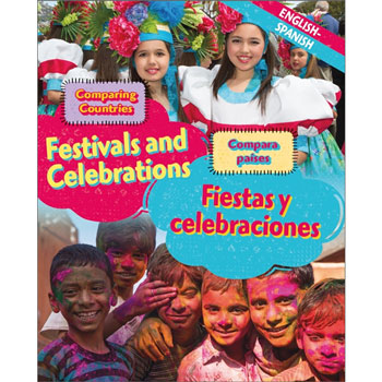 Comparing Countries: Festivals and Celebrations (English & Spanish)