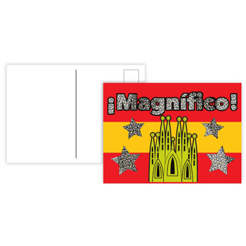 Spanish Reward Postcards - Sparkling Magnífico (Pack of 20)