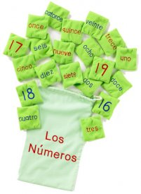 Spanish Bean Bags - Numbers