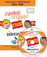 ¡Español! ¡Español! Interactive Whiteboard Resource (Vol. 1)