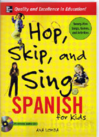 Hop, Skip and Sing - Spanish for Kids