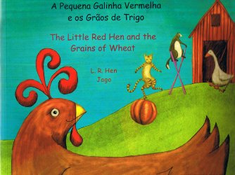 The Little Red Hen (Chinese Traditional - English)