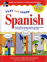 Play and Learn Spanish (with CD)