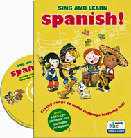 Sing & Learn Spanish (with CD)