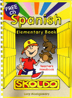 Skoldo Spanish - Elementary Book (Teacher's Handbook - Photocopiable with CD)