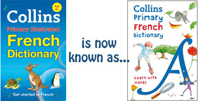 Collins First Time French to Primary Illustrated French