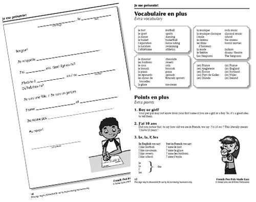 French pen pals made easy brilliant publications little linguist guidance for use french pen pals spiritdancerdesigns Images