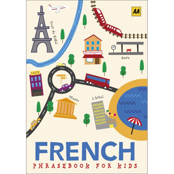 FRENCH PHRASEBOOK AND AUDIO CD 3  BOOK NEW