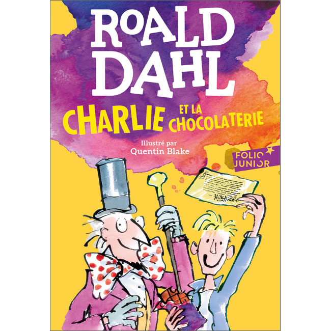 Charlie and the Chocolate Factory in French | Charlie et la Chocolaterie |  9782070601578 - Little Linguist