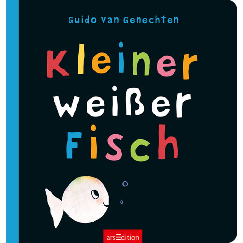 kleiner wei er fisch by guido van genechten isbn 9783845810041 little linguist. Black Bedroom Furniture Sets. Home Design Ideas