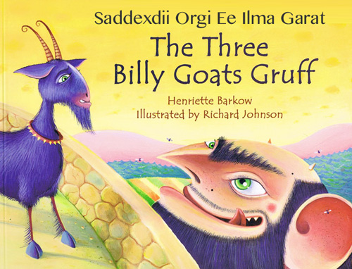 The Three Billy Goats Gruff - Somali and English Dual Language Story ...