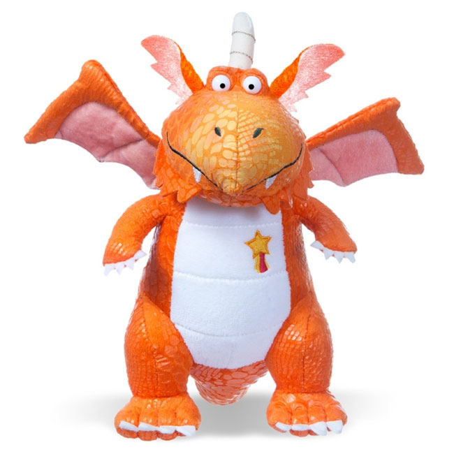 64716fe8ca33 Zog the Dragon Plush / Soft Toy - Little Linguist