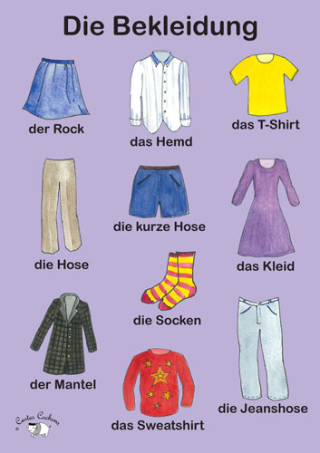 new style 0e8c0 1fafd Poster (A3) - Die Bekleidung