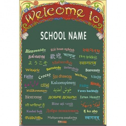 Welcome to... Poster (Personalised for your School / Club)