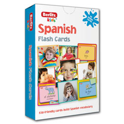Berlitz Kids Spanish Flash Cards