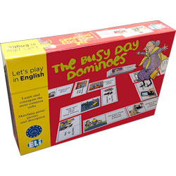 Let's Play in English: The Busy Day Dominoes