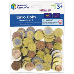 Play Euro Coins (Mixed Set of 100)