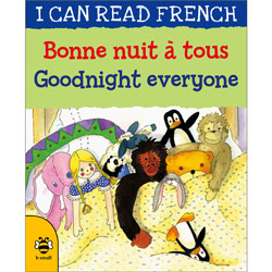 I can read French - Bonne nuit à tous / Goodnight everyone