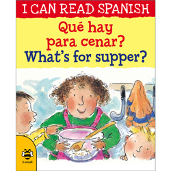 I can read Spanish - ¿Qué hay para cenar? / What's for supper?