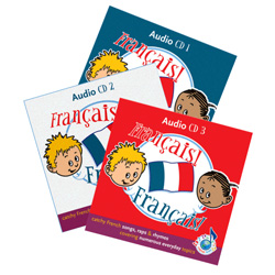 Français! Français! 3 Audio CD Set