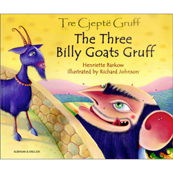The Three Billy Goats Gruff: Albanian & English
