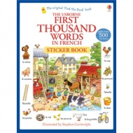 Usborne First Thousand Words in French Sticker Book