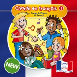 Chante en Français 1 (French Songs CD)